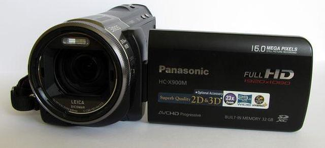Panasonic HC-X900M [TEST]