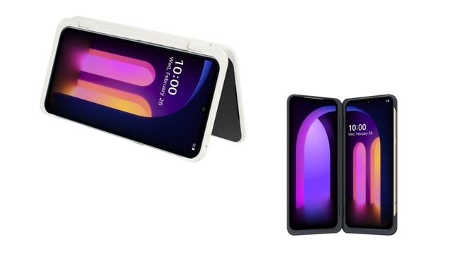 3 ekrany i 5G - LG pokazało V60 ThinQ z etui Dual Screen