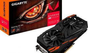 Gigabyte Radeon RX VEGA 64 GAMING OC 8G, GDDR5 (192 BIT), 3xDP, 3xHDMI, BOX (GV-RXVEGA64GAMING OC)