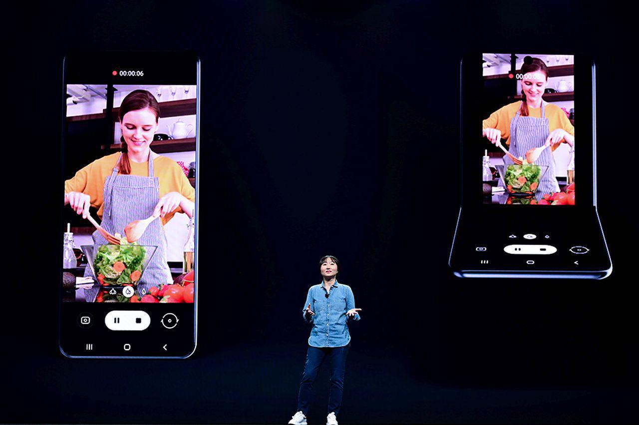 Samsung Fold następnej generacji może wyglądać w ten sposób