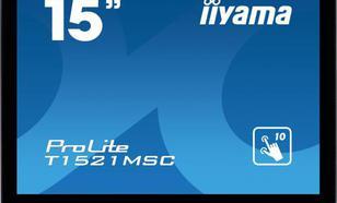 IIYAMA 15'' T1521MSC-B1 POJEMNOSĆIOWY 10PKT.,TN,7H