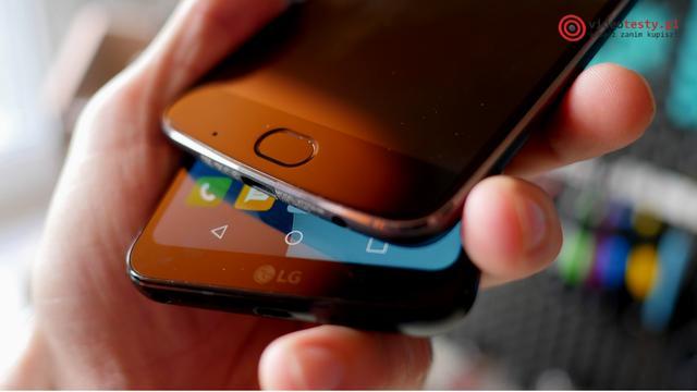 LG G6 - porównanie z innym telefonem