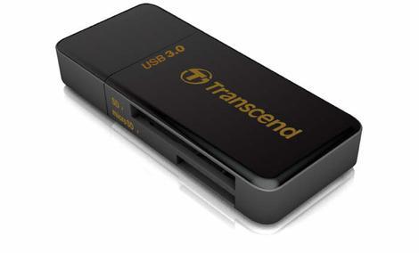 TRANSCEND RDF5 – podręczny czytnik kart SD z USB 3.0
