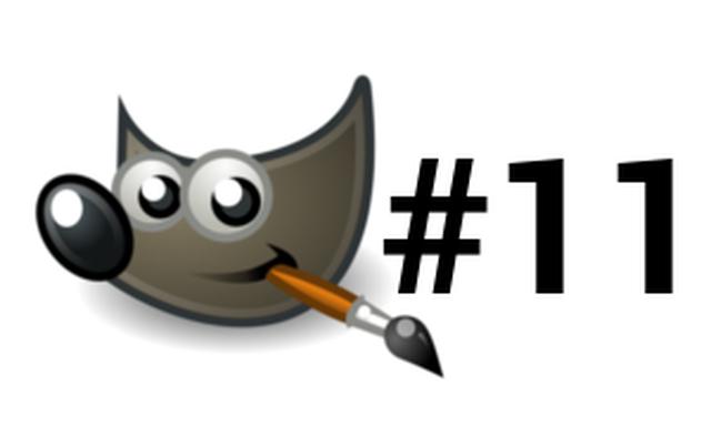 Poradnik GIMP #11 Przycisk z Efektem Błysku