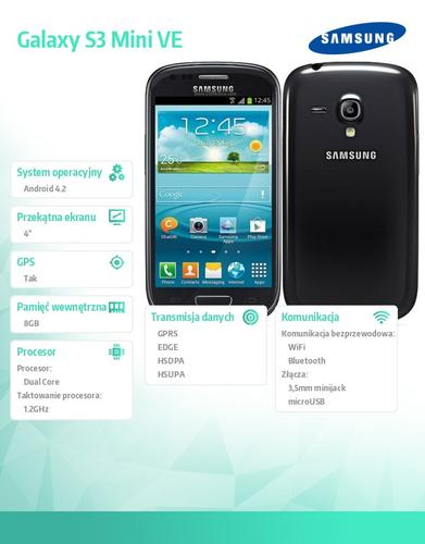 Samsung I8200 BLACK Galaxy S3 Mini VE