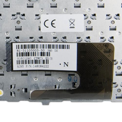 Whitenergy Klawiatura do Sony VAIO VGN-FW - czarna