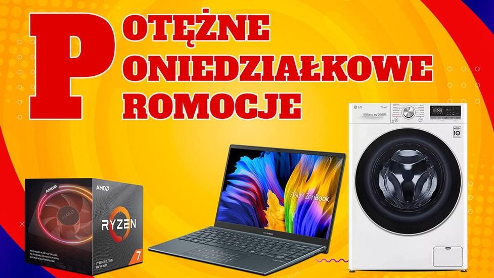 Ryzen 7 3800X i laptopy taniej! Potężne Poniedziałkowe Promocje w RTV Euro AGD