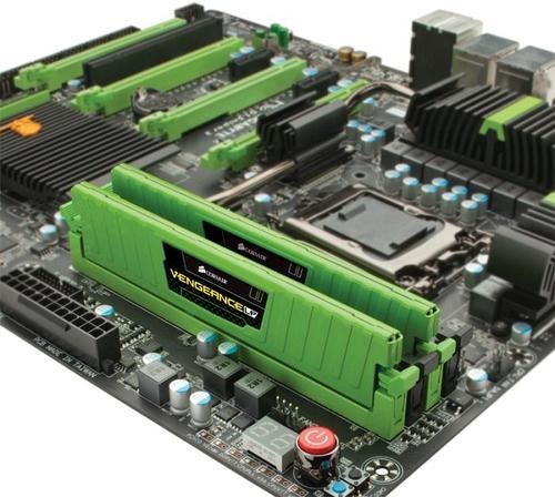 Corsair DDR3 Vengeance 8GB/1600 (2*4GB) CL9-9-9-24 Low Profile Green