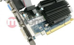 Sapphire Radeon HD6450 1GB GDDR3 (64 bit) HDMI, DVI, D-Sub (11190-02-20G)
