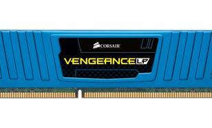 Corsair DDR3 4GB/1600 (2*2GB) VENGEANCE CL9-9-9-24 Low Profile Blue Heatspreader