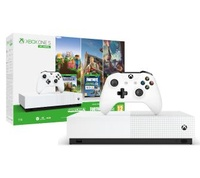Promocja na Xbox One S 1TB All-Digital Edition + Minecraft + Sea Of Thieves + Fortnite
