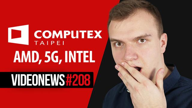 Laptopy z 5G, AMD zmiażdżyło Intela, SI nas podsłuchuje - VideoNews #208