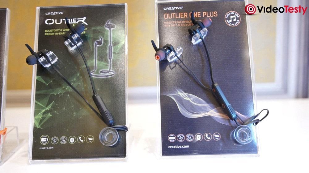 Creative Outlier One - słuchawki bezprzewodowe z pilotem