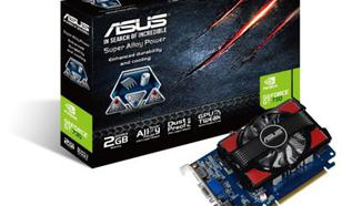 Asus GeForce CUDA GT730 2GB DDR3 PCI-E 128BIT HD/DVI/DS BOX !!