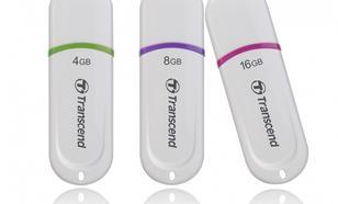 Transcend JETFLASH 330 8GB USB2.0 WHITE