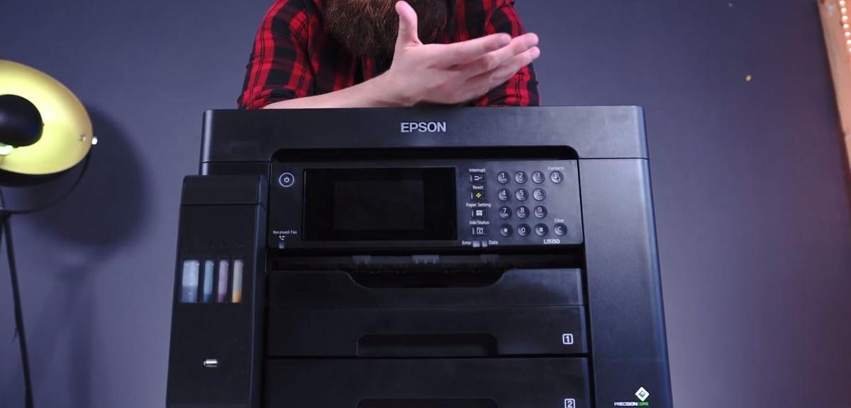Ręka na Epson L15150