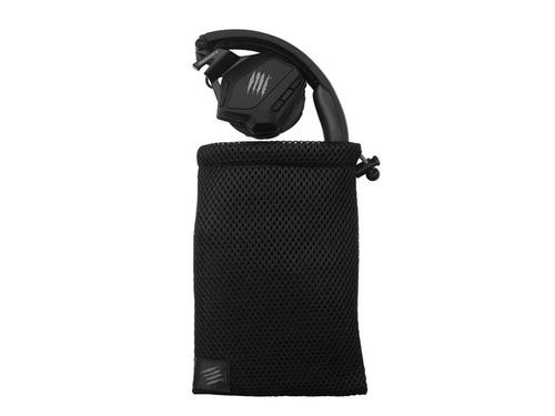 Madex Słuchawki bezprzewodowe z mikrofonem F.R.E.Q.M Gaming Matt Black