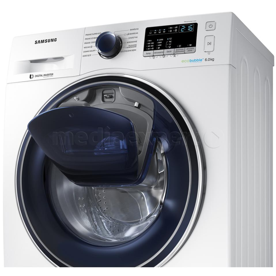 SAMSUNG WW60K52109W Add Wash