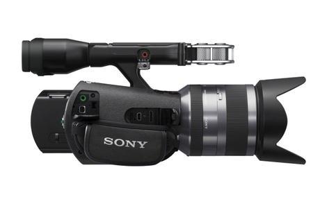 Sony Handycam NEX-VG20E - zaawansowana kamera o sporych możliwościach