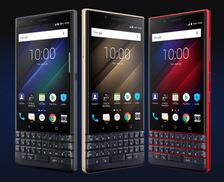 Blackberry Key 2 LE kolory
