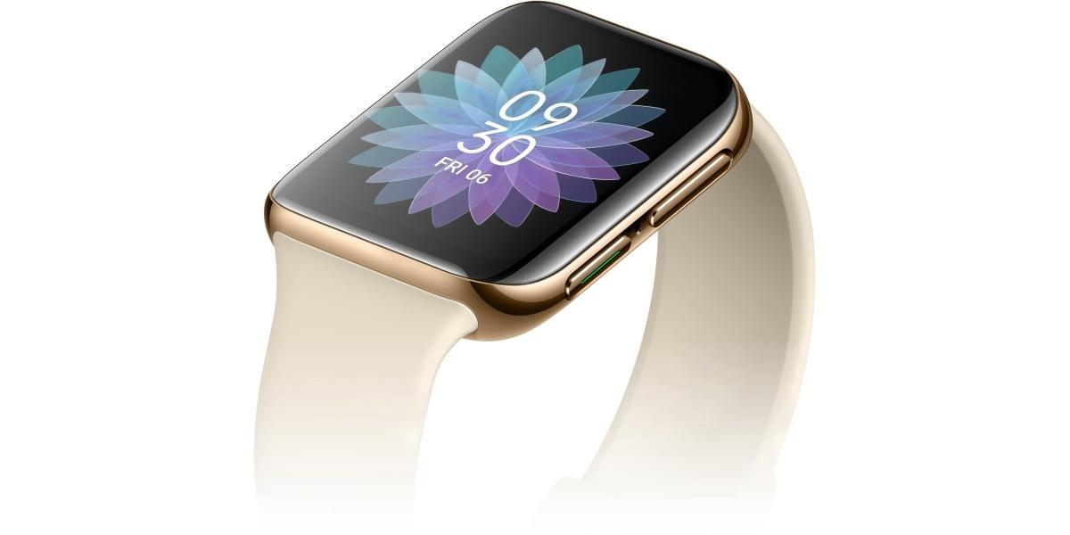 Oppo Watch wyróżnia się między innymi charakterystycznym przyciskiem
