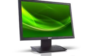 Acer 21.5'' Monitor V223HQLCbd 55cm 16:9 LED FHD 5ms 100M:1 DVI czarny (zabezpieczenie PIN)