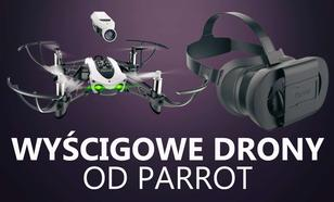 Parrot Prezentuje Ultralekkie Wyścigowe Drony