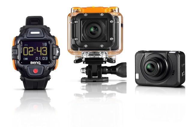 BenQ SP2 - uwiecznij swoje ekstremalne wyczyny dzięki nowej kamerze sportowej
