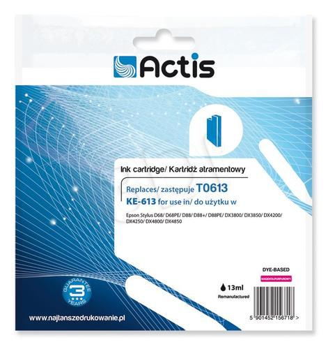 Actis KE-613 tusz magenta do drukarki Epson (zamiennik Epson T0613) Supreme