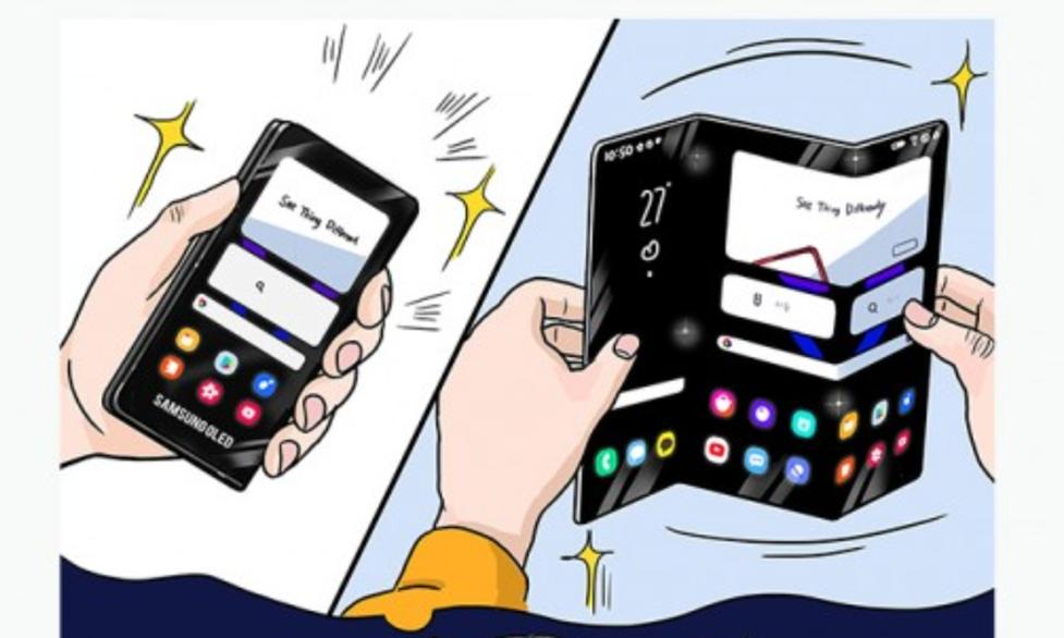 Samsung planuje potrójnie składany smartfon