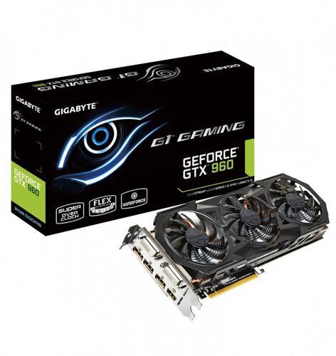 Gigabyte GeForce CUDA GTX960 GAMING 2GB DDR5 128BIT 2DVI/HD/3DP