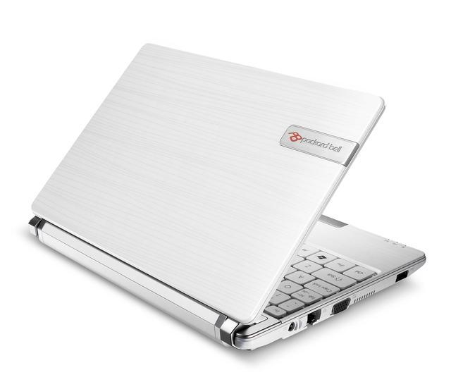 Nowy netbook Packard Bell dot s - oryginalny, mobilny i ergonomiczny