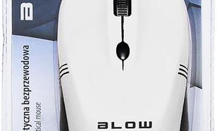 Blow bezprzewodowa optyczna MB-10 1600dpi biały