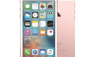 Apple iPhone SE 128GB (różowy złoty)