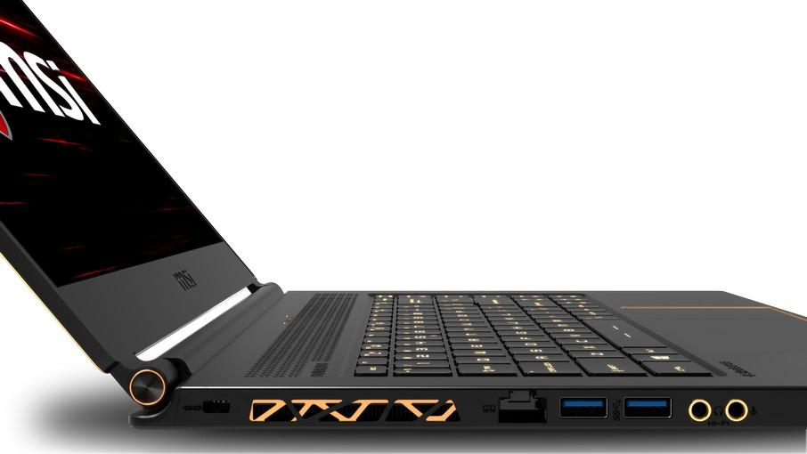 MSI GS65 Stealth - porty