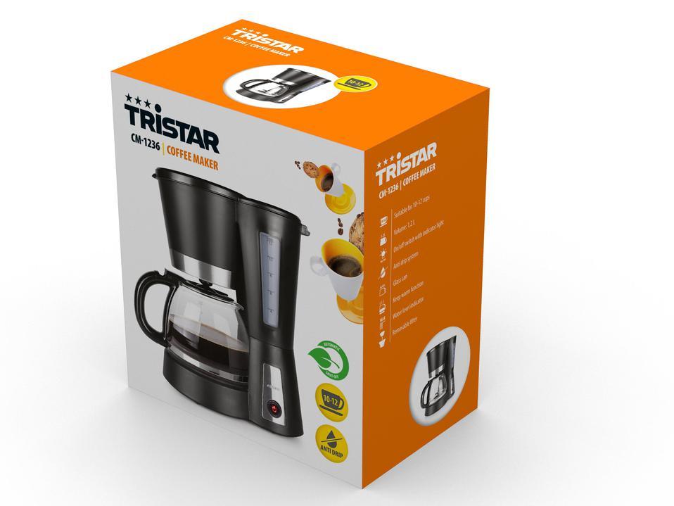 TRISTAR CM-1236 ( 900W ; czarny )