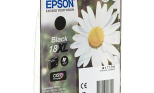 EPSON Tusz Czarny T1811=C13T18114010, 470 str., 11.5 ml