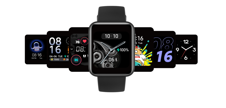 Xiaomi MI Watch oferuje ponad 120 tematów zmieniajacych wygląd interfejsu