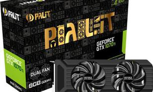 Palit GeForce GTX 1070 Ti Dual 8GB GDDR5 (256 bit) DVI-D, HDMI, 3xDP, BOX (NE5107T015P2-1043D)