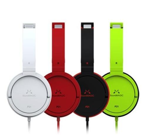 SoundMAGIC P21 czarne Słuchawki Nauszne