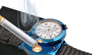 GearBest USB Rechargeable Watch Flameless Cigarette Lighter