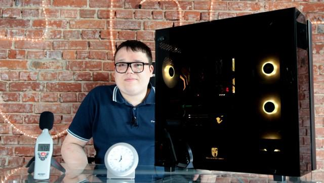 Deepcool New Ark 90 - bok
