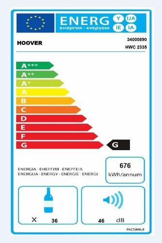 Hoover HWC 2335 Chłodziarka do wina