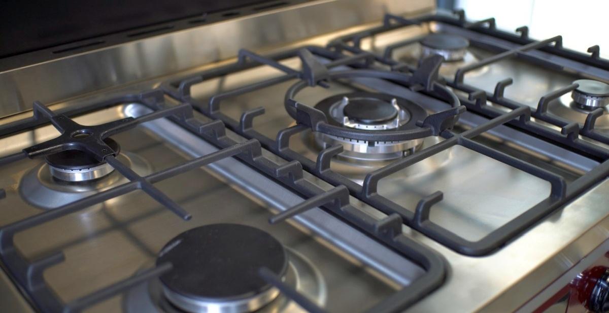 5 palników pozwala na sporą elastyczność w gotowaniu
