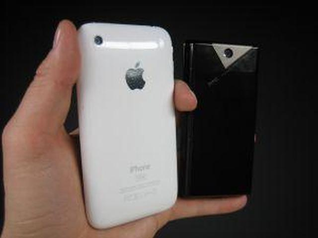 HTC Diamond2 vs iPhone 3G
