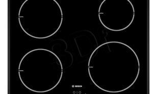 Indukcyjna 4-polowa Bosch PIE 651B17E (Czarny)