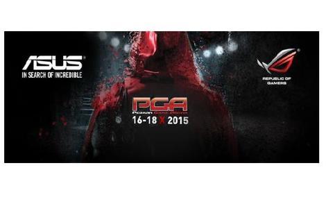 Poznań Game Arena 2015 - Nowości od Firmy ASUS!