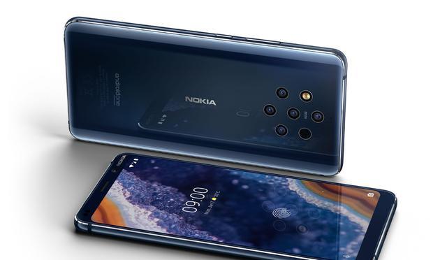 Nokia 9 PureView z 5 aparatami