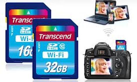 Transcend WiFi SD Card - karta pamięci z Wi-Fi