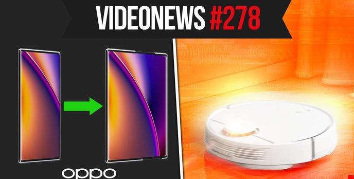 Rozsuwany smartfon, robopsy na służbie, odkurzacze podsłuchują - VideoNews #278